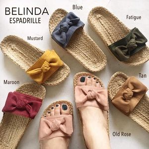 Summer Espadrille Women Sandals *LIMITED STOCKS*